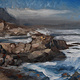 Oil painting Sea Point #1 by Hendrik Gericke