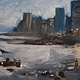 Oil painting Sea Point #2 by Hendrik Gericke