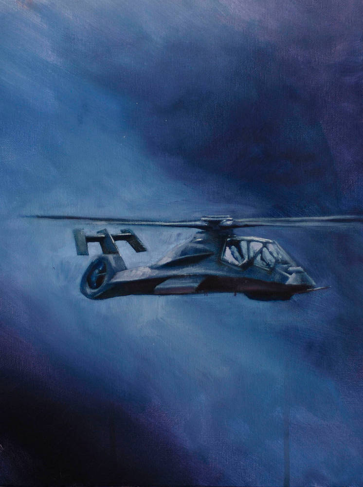 Oil painting RAH-66 by Hendrik Gericke