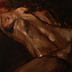 Oil painting Reclining nude by Hendrik Gericke