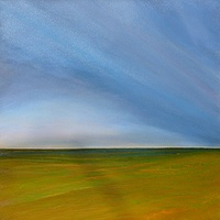 Oil painting  PRAIRIE STORM 3 by Wayne Pitchko