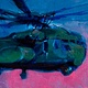 Oil painting CH-53 by Hendrik Gericke