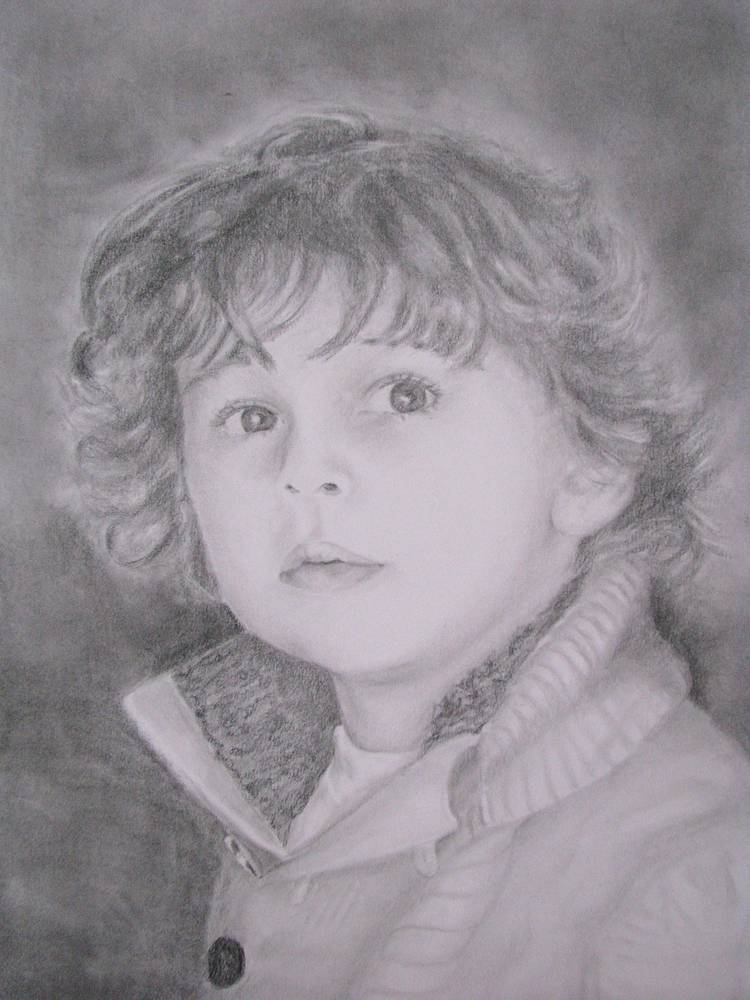 Drawing Theo by Shannon Coyle