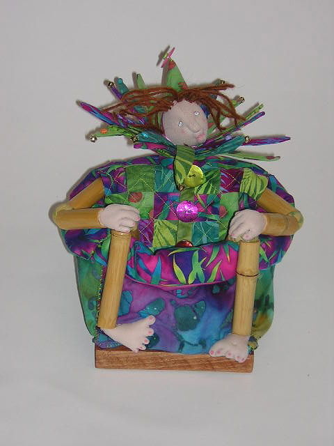 Bamboo Man in a Bamboo Box by Alison Lang