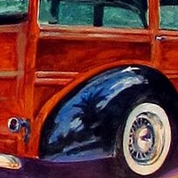 Ford Woody by Paul Sershon
