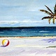 Oil painting Beachball#2  by Paul Sershon
