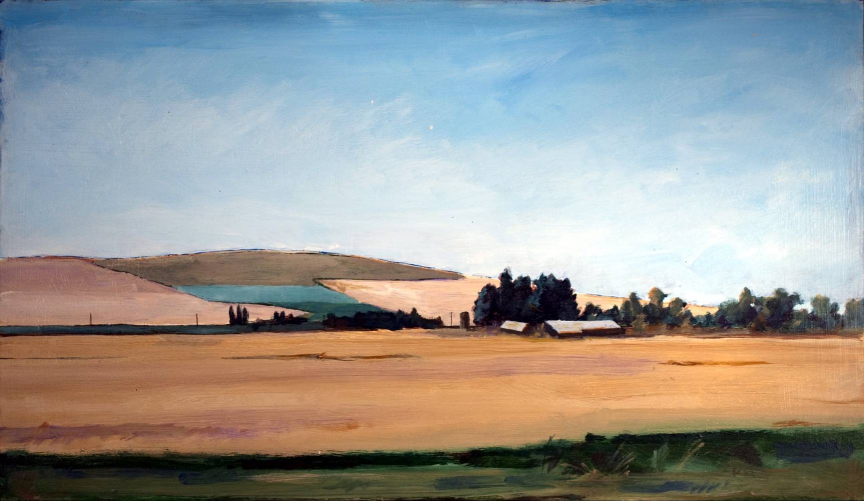 Oil painting Private Idaho by Paul Sershon