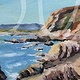 Oil painting Bodega Head by Sophie Dassonville