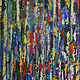 Acrylic painting Urban Rhythms #17  by David Tycho
