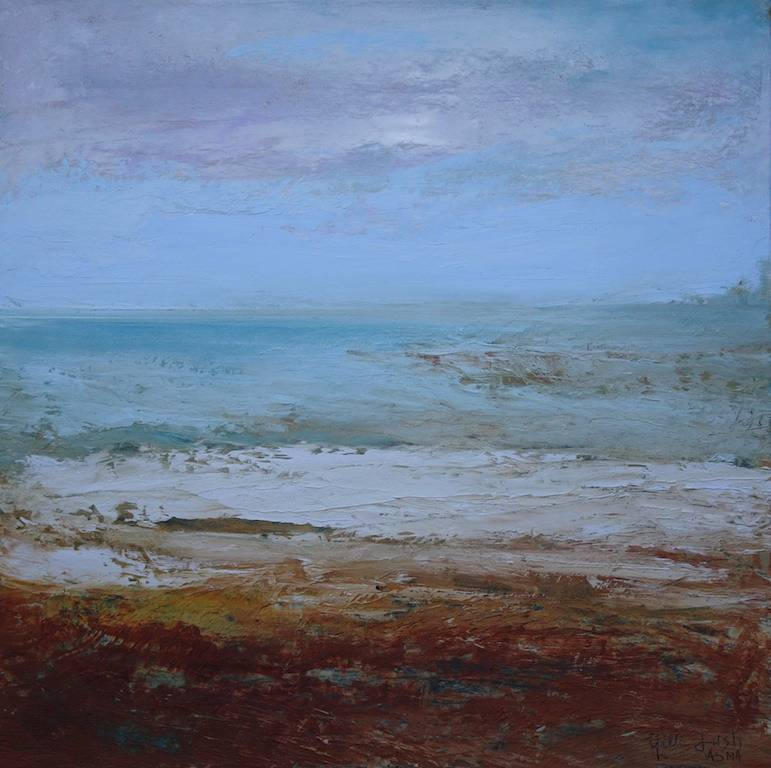 Oil painting Plum Island/SOLD by Nella Lush