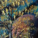 Abstract Aspens XIV  by Isaac Carpenter