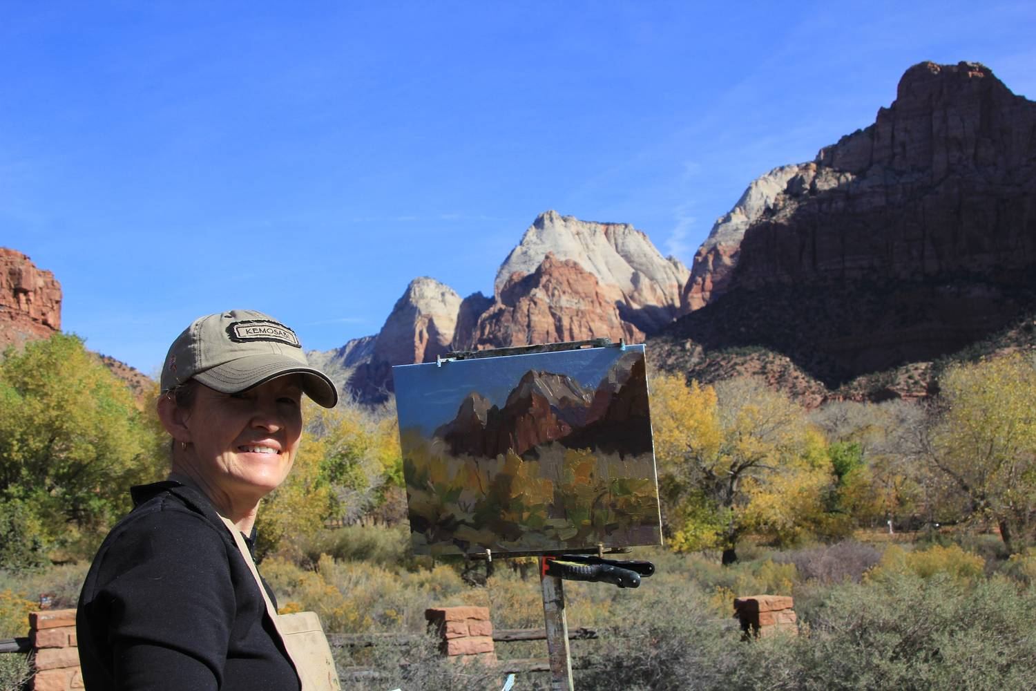 Zions Park near the entrance, November 2013 by Susette Gertsch