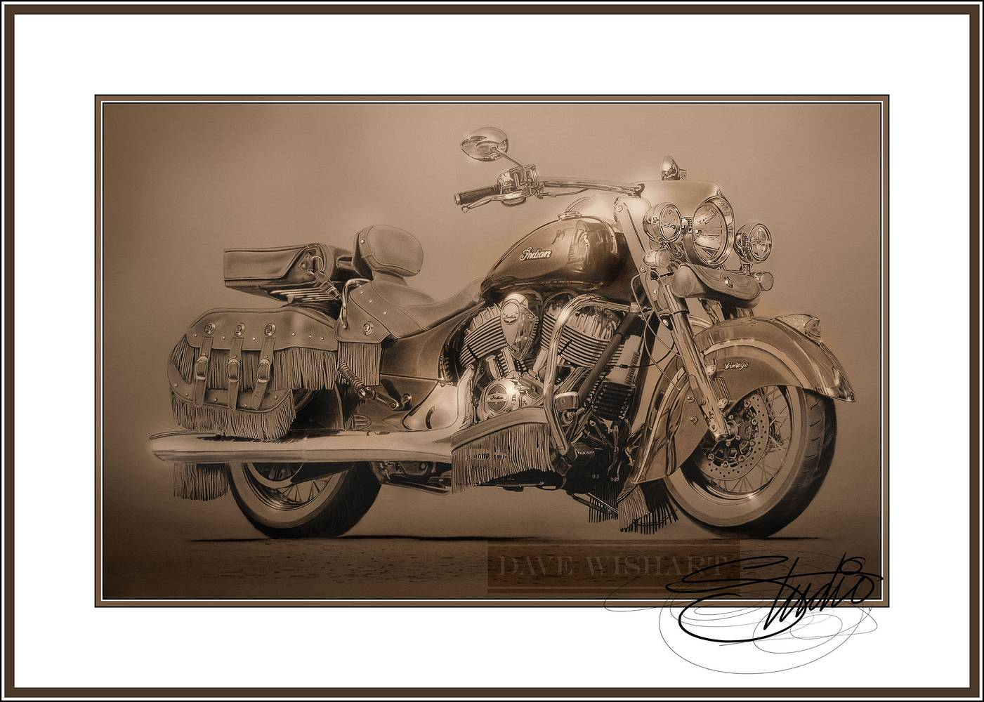 Indian Vintage by Dave Wishart