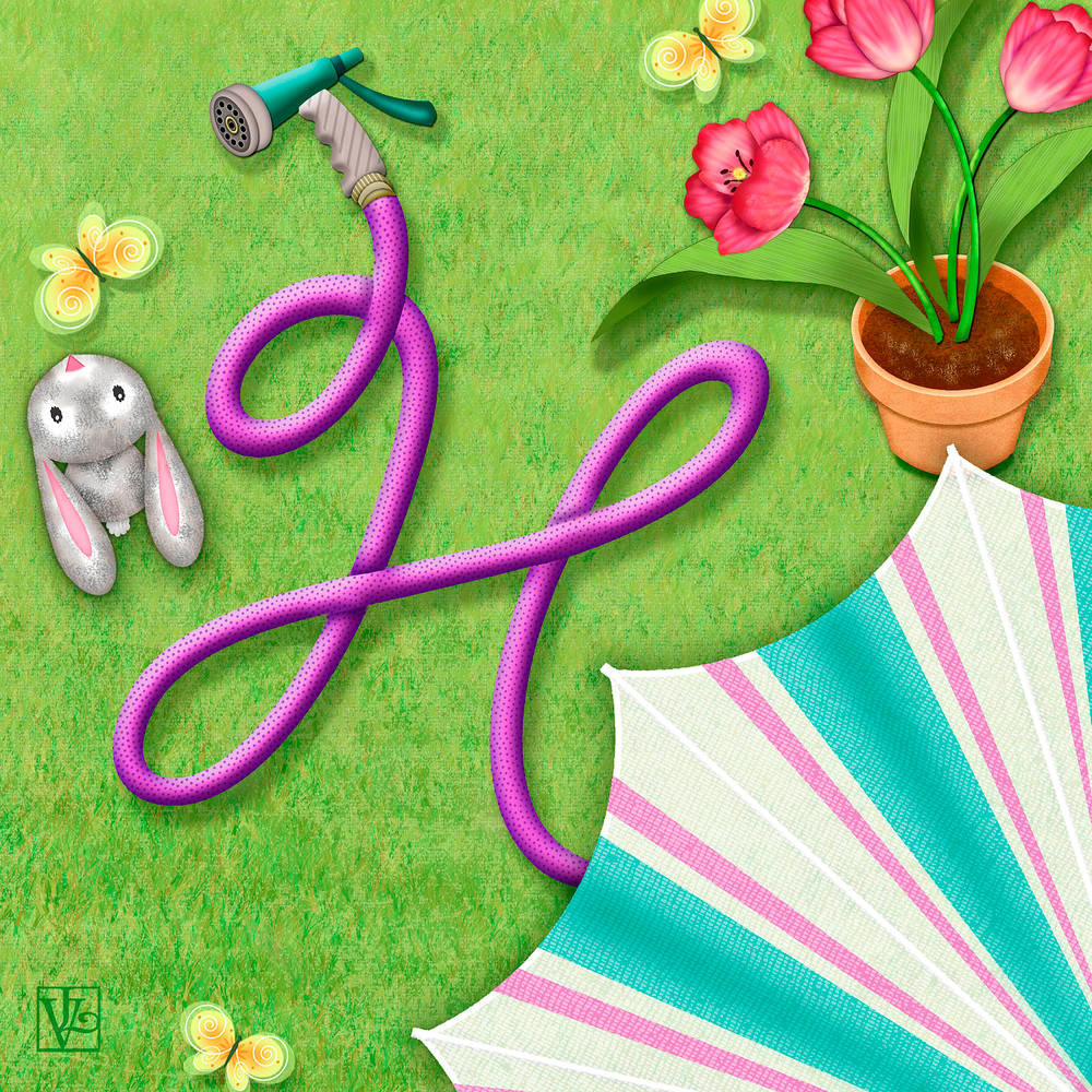 H is for Hose  by Valerie Lesiak