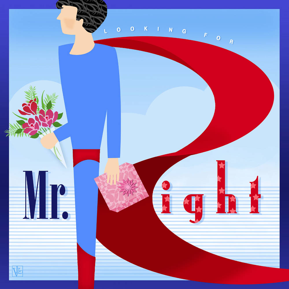 The Letter R is for Mr. Right by Valerie Lesiak
