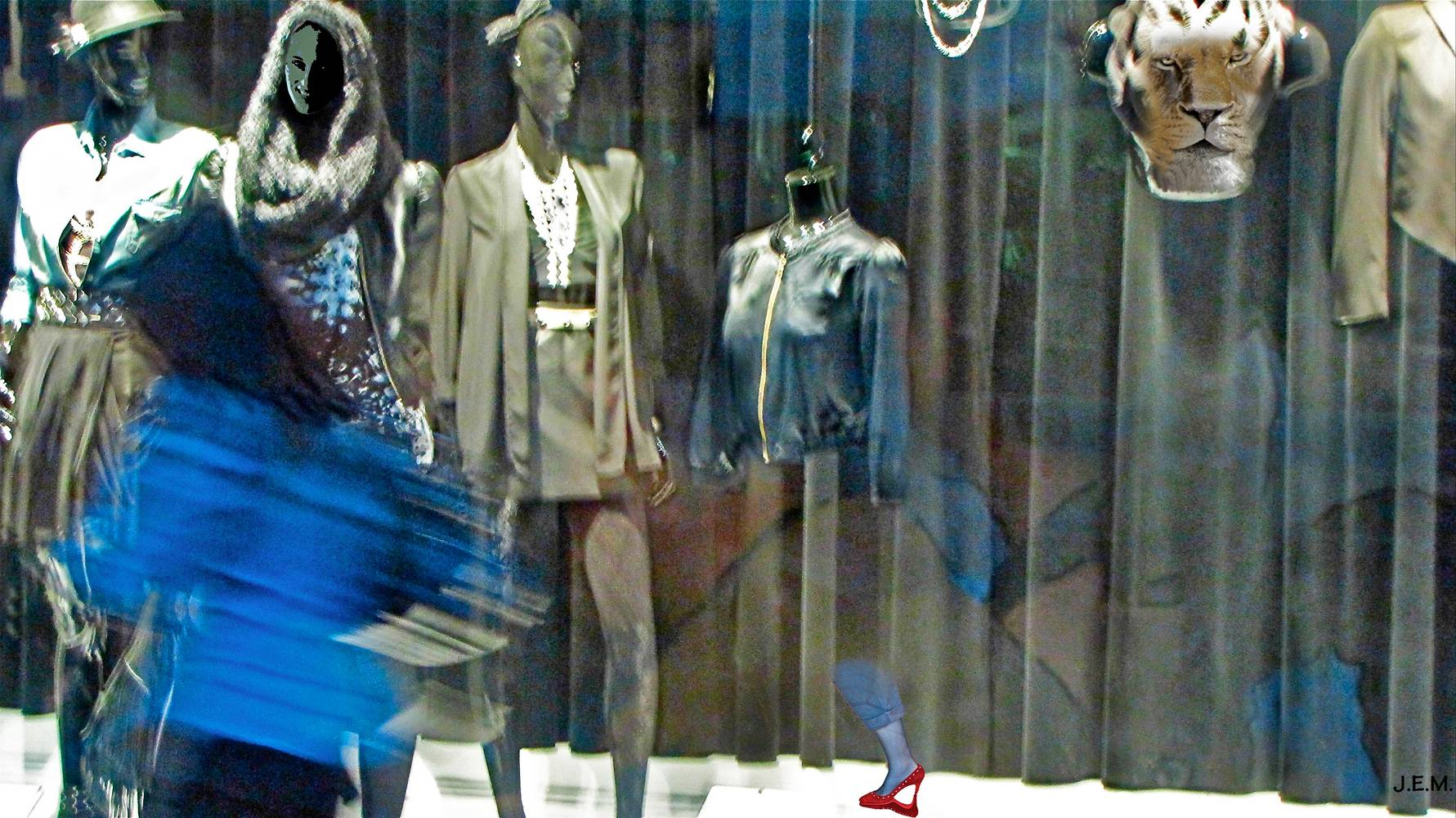 WINDOW SHOPPING by Joeann Edmonds-Matthew