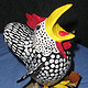 Wild chicken box by Valerie Johnson