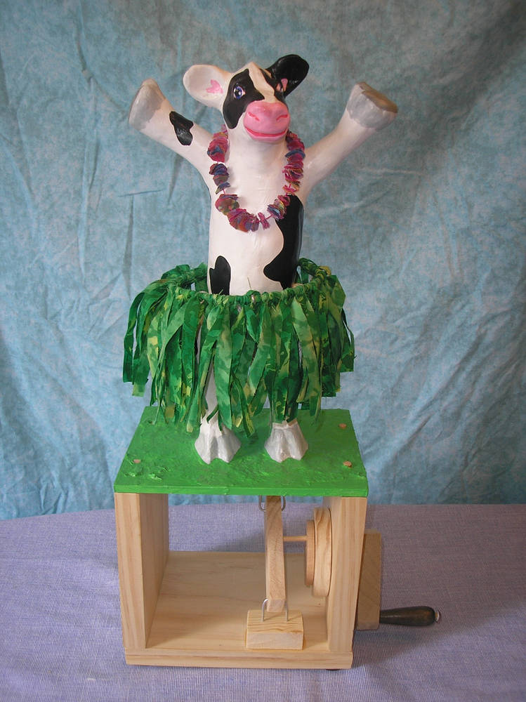 Hula Cow by Valerie Johnson