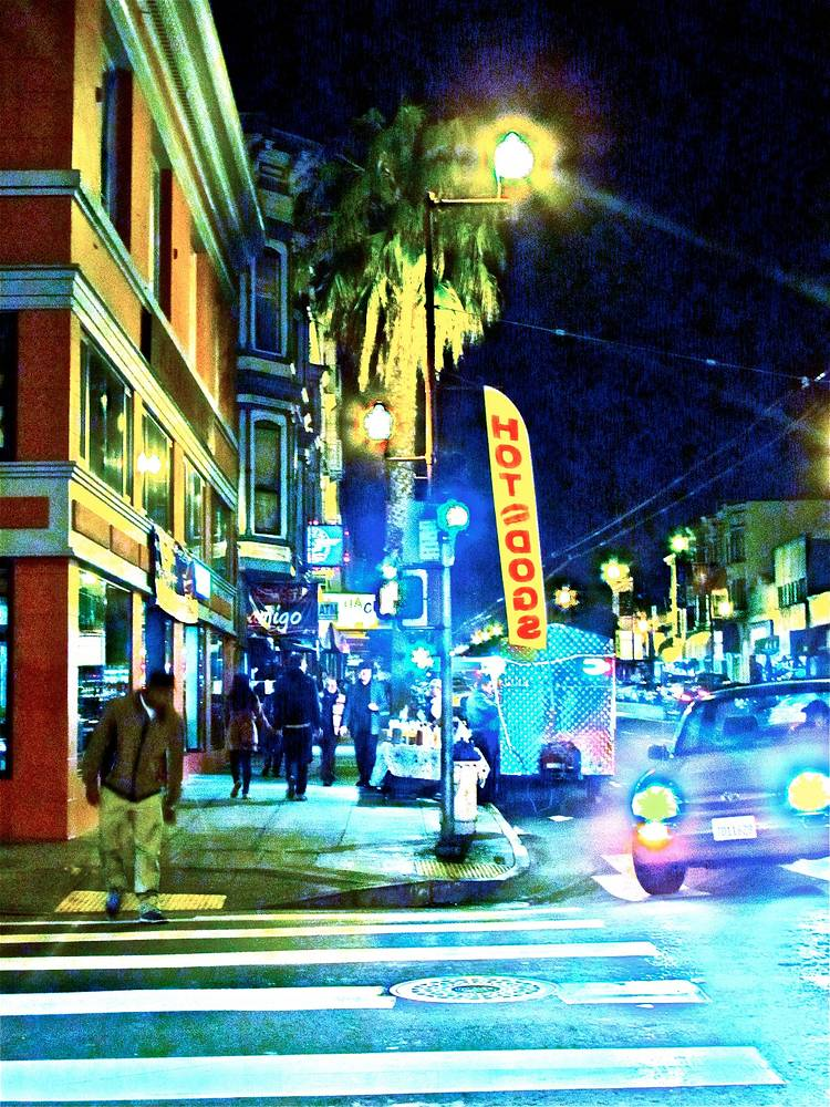 SF STREET CORNER by Joeann Edmonds-Matthew