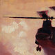 Oil painting C47 Chinook by Hendrik Gericke